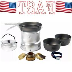 Trangia 27-8 Hard Anodised Alloy Storm Cook Set + Kettle