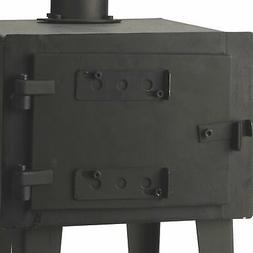 Heavy Duty Wood Stove Outdoor Wood Burning Cooking Heating C