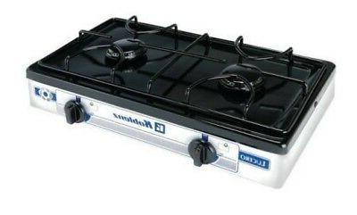 Burner Gas Stove Camping Portable Outdoor Cooking Backyard P