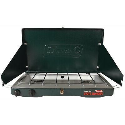 2 burner portable propane gas stove 10