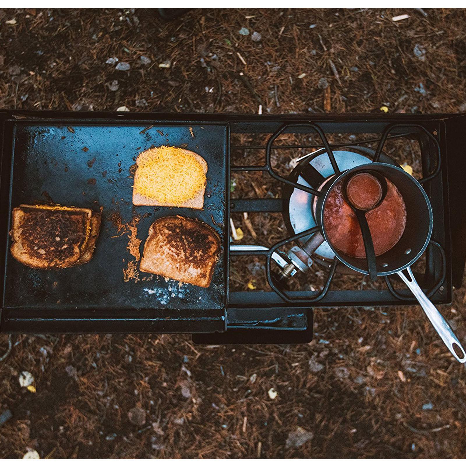 2 Propane Stove Camping Camp Grill Barbecue