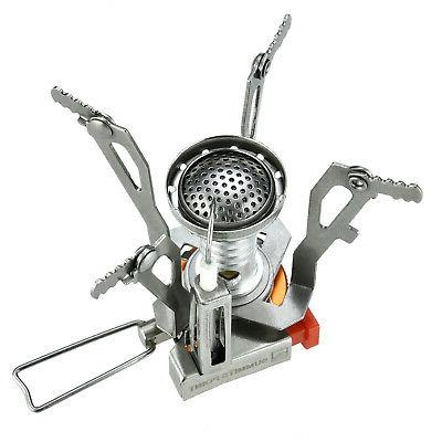2 Backpacking Stove with Ignition Valve