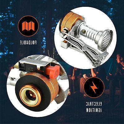 Ultralight Portable Backpacking Gas Butane Camp Gas Stove Burner