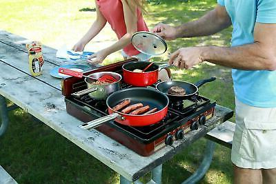 """Koblenz 4-Burner Cooktop Stove Portable 18"""" x"""