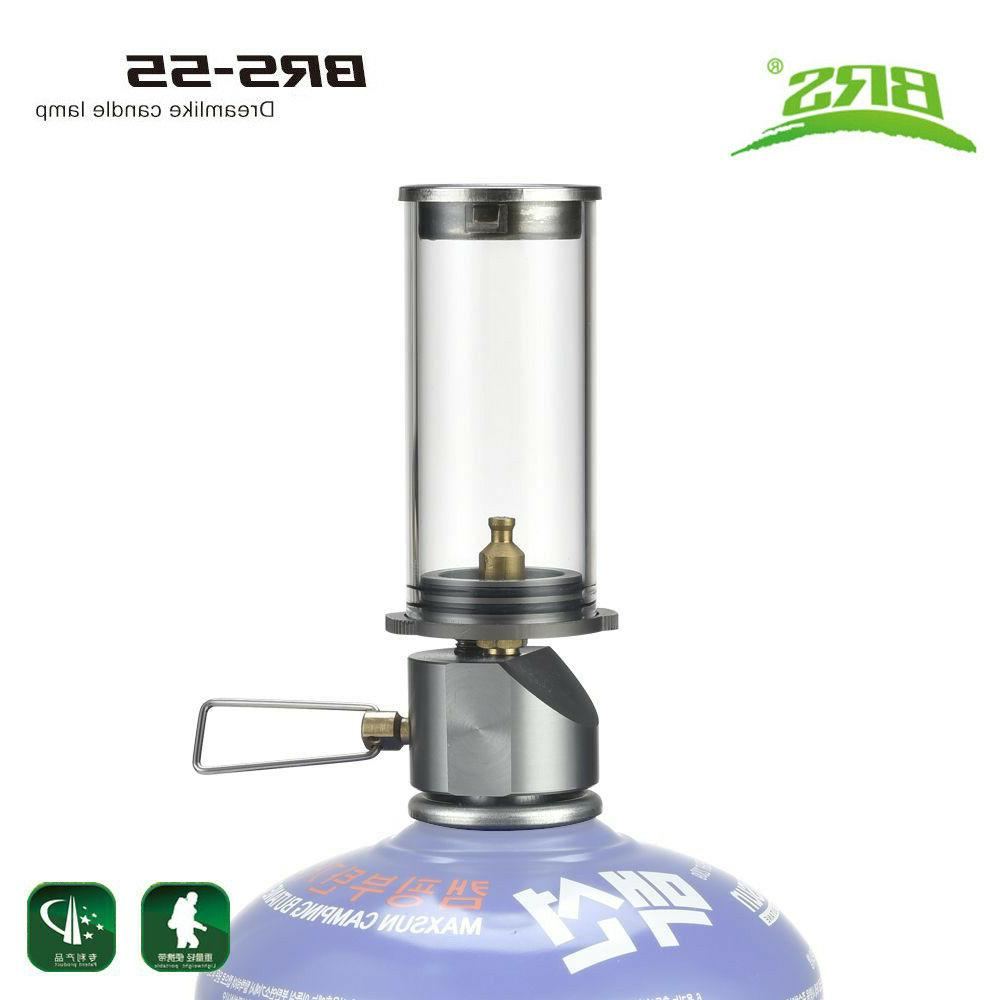 BRS-55 Outdoor Camping Lamp Ultralight Portable Gas Lamp Tou