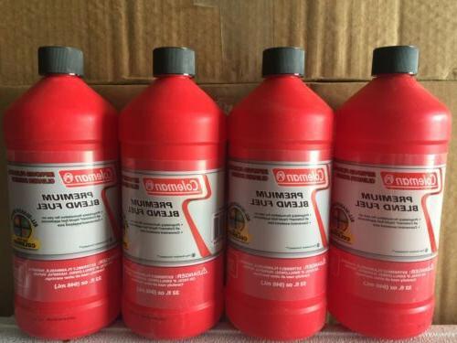 4 premium blend fuel 32oz bottle camping