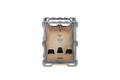 alloy ti2201 backpacking wood stove custom storage