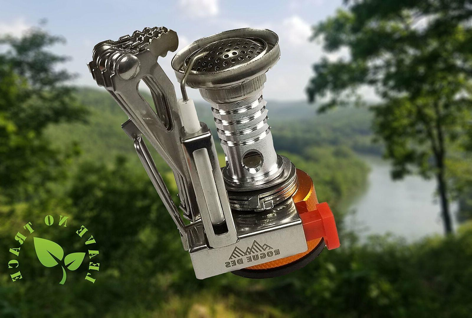 Backpacking Burner Cooker Small