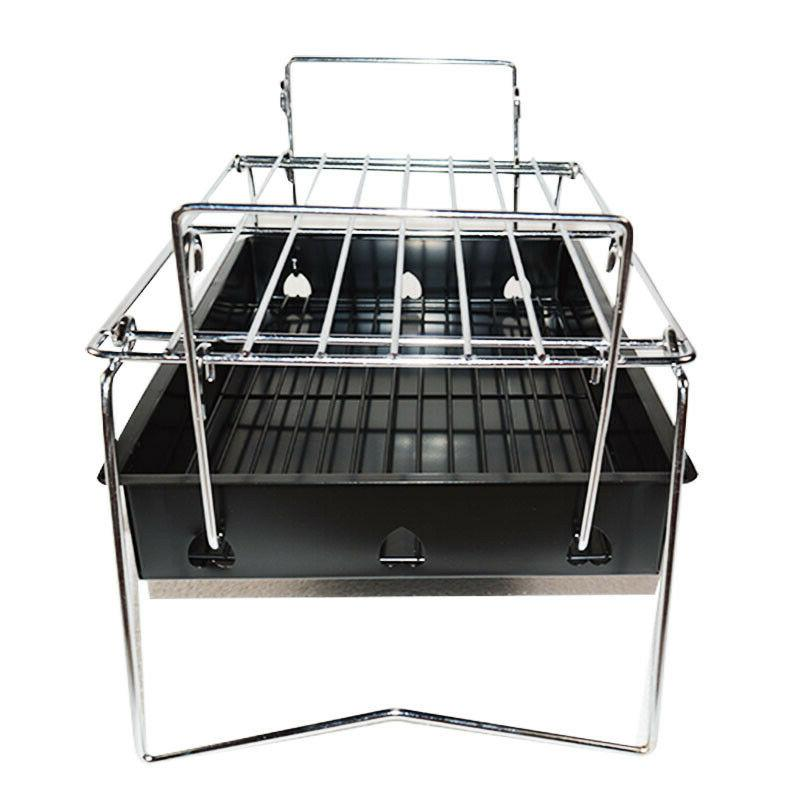 INTBUYING Barbecue Small BBQ Charcoal Stove