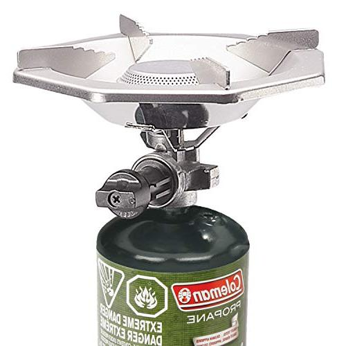 "Coleman Bottle Top Stove,Green,6.62"" W 7.75"""