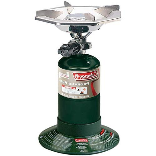 "Coleman Top Stove,Green,6.62"" H x W x 7.75"""