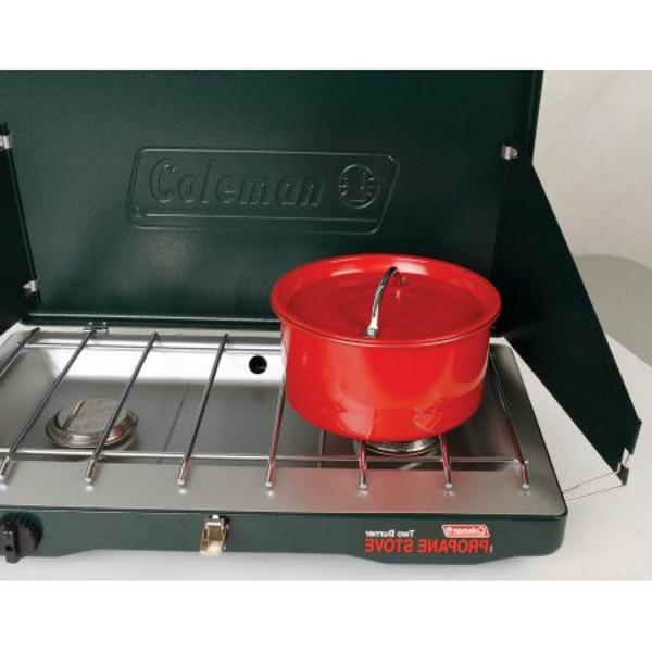 CAMP STOVE PROPANE 2 Burner Portable Cooking NEW