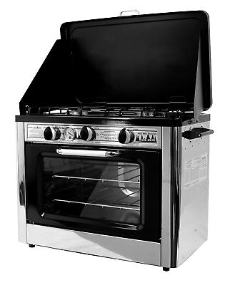 camping outdoor oven with 2 burner camping