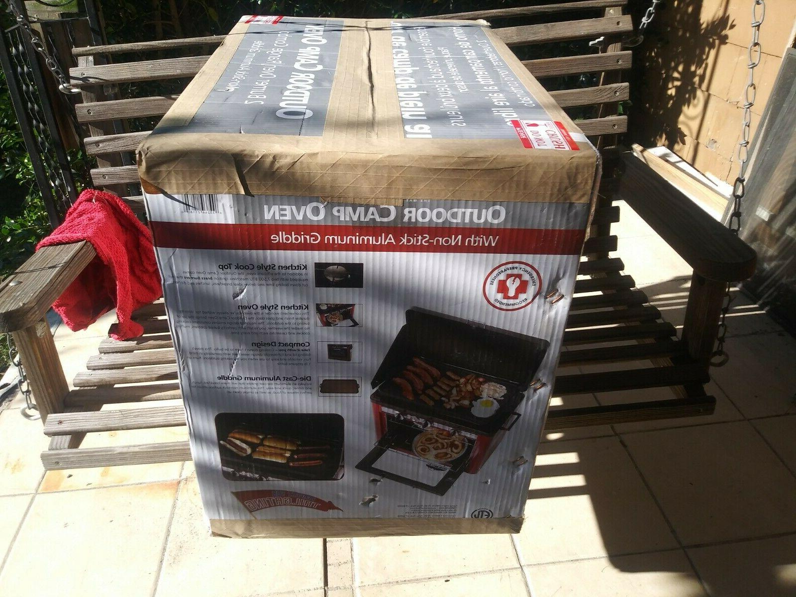 Camp Camping with Griddle, COLOR!!!! NEW IN BOX!!!!