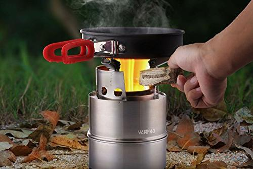 Stove/Backpacking Wood Burning Stove Nylon Carry Outdoor