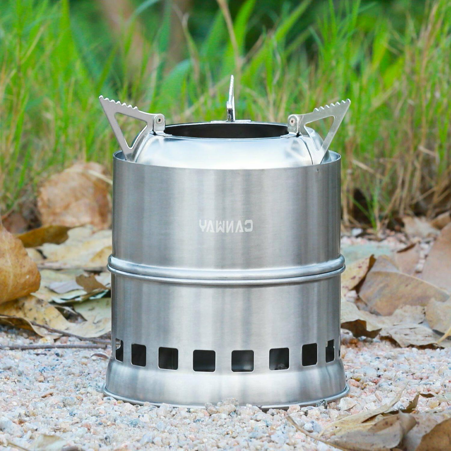 Camping Stove Collapsible Cooking BBQ breakfast Travel Porta