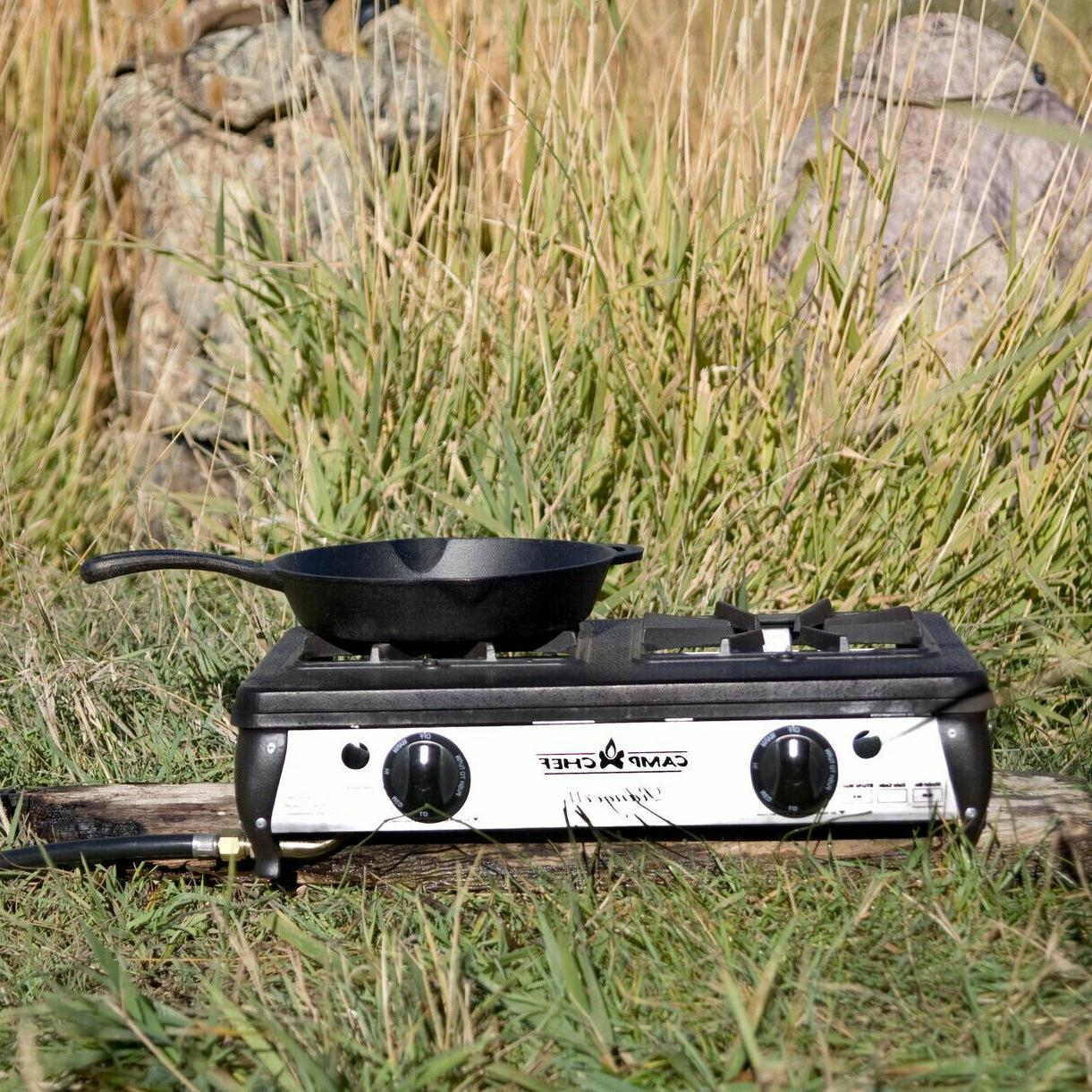 Camping Propane Outdoor Cooking Double