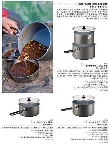 ceramic base aluminum nonstick camping