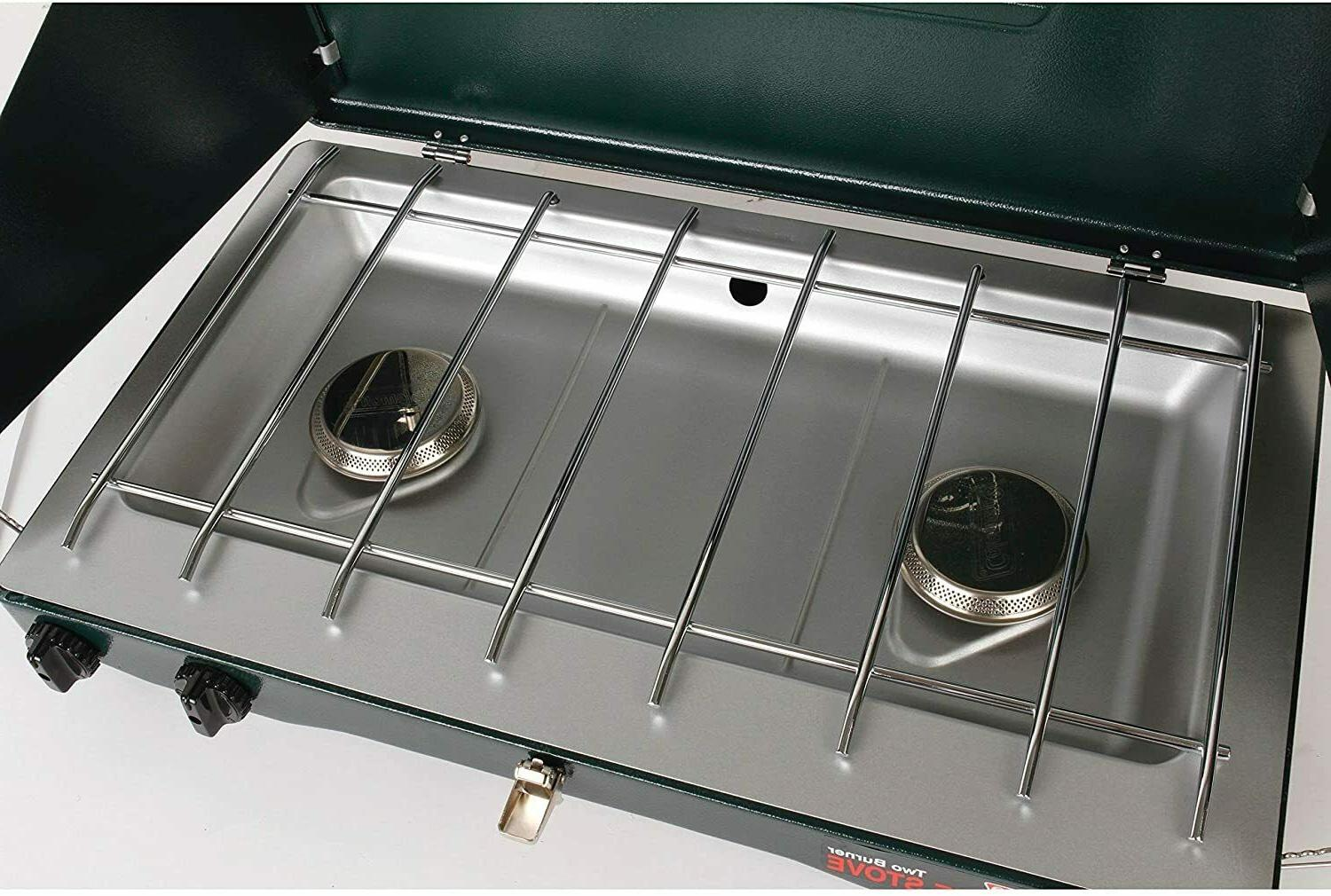 Coleman 2-burner Gas Stove 10,000 Outdoor Cooking Camping