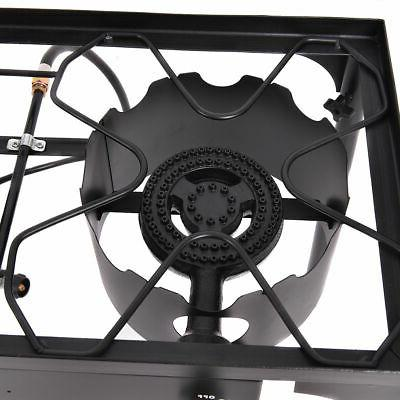 Double Burner Gas Cooker Camping Stove