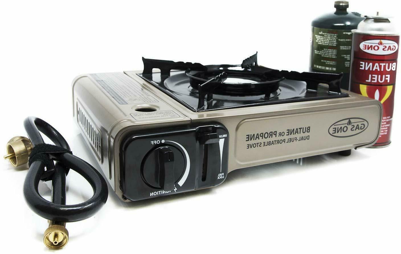 propane or butane stove gs 3400p dual