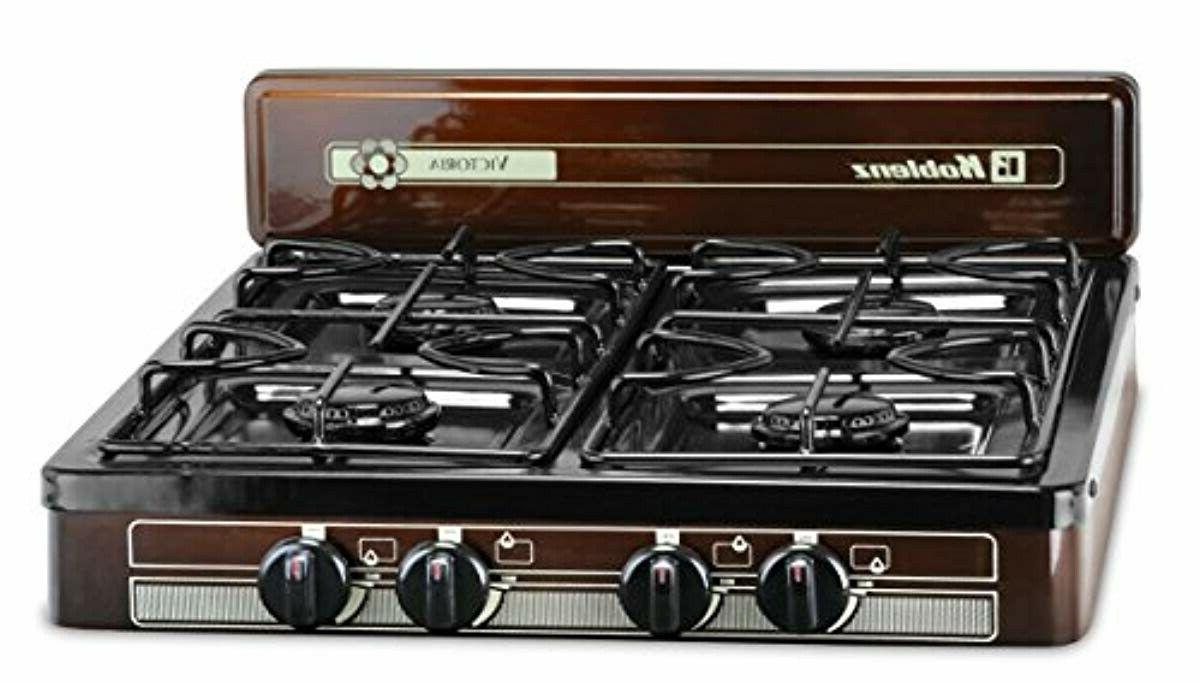 electric 4 burner gas stove portable lightweight