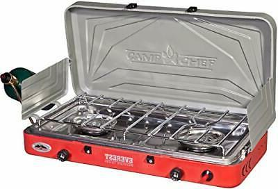 everest high output two burner stove outdoor