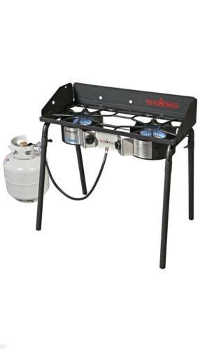 explorer deluxe face plate 2 burner stove