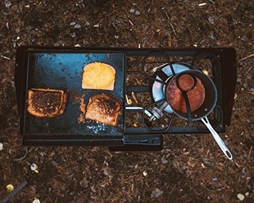 Camp Chef EX60LW Explorer 2 Burner Outdoor Camping Modular