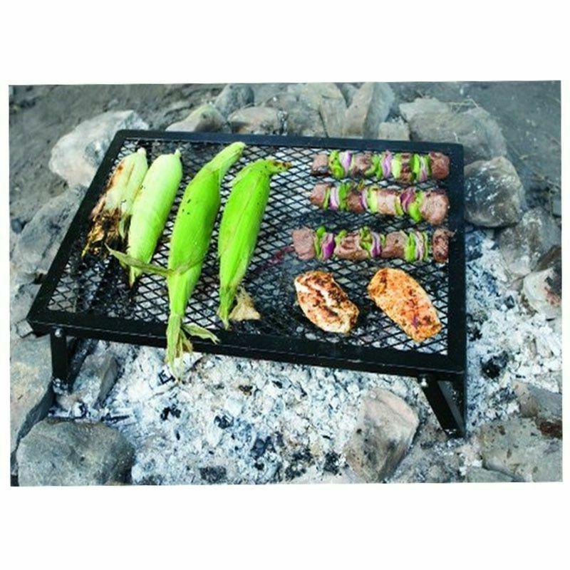 Foldable Grills Black Stability Cooking Meats Outdoor
