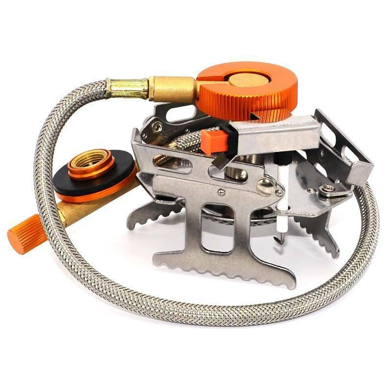 Folding Portable Gas-Burner Butane Propane Cooking Stove Cam