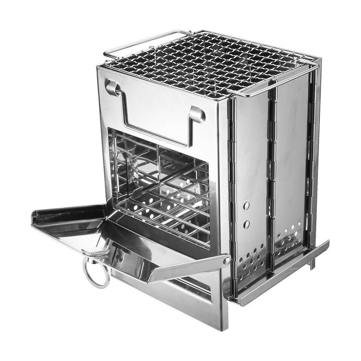Portable Stove Outdoor Stainless Steel