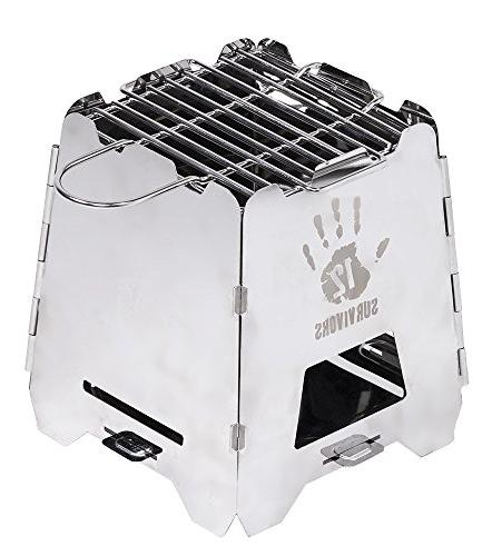 grid survival stove