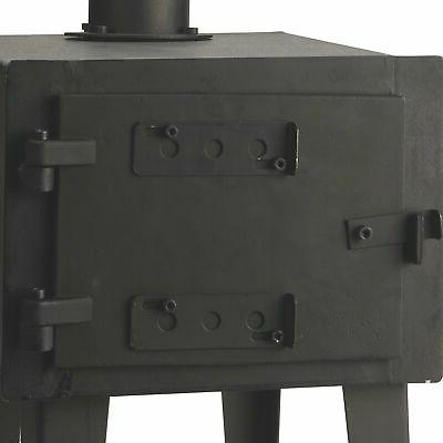 heavy duty wood stove outdoor wood burning