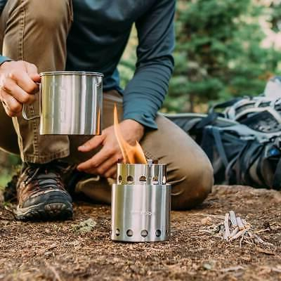 Solo Camp - Lightweight Compact Backpacking Stove