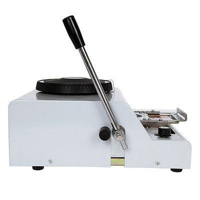 Manual 72 Letters Embossing Machine Manual Embosser PVC