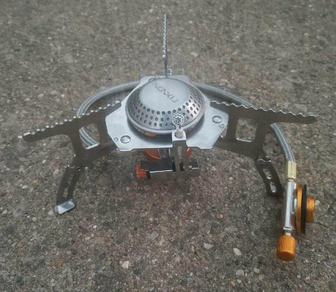 mini stove gas cooking burner light folding