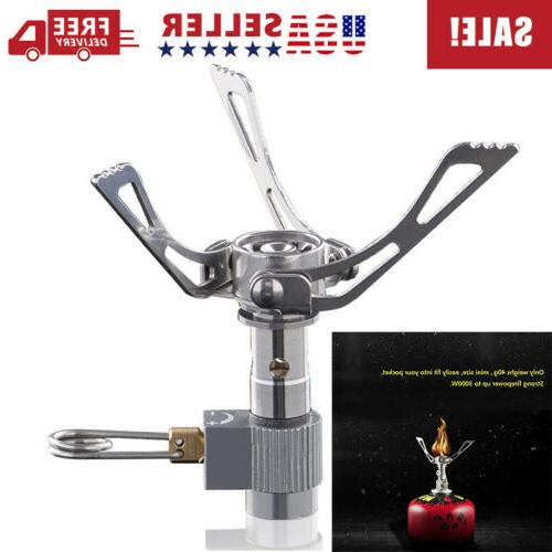 Brs-3000t 2700w Folding Titanium Camping Hiking Cooking Burn