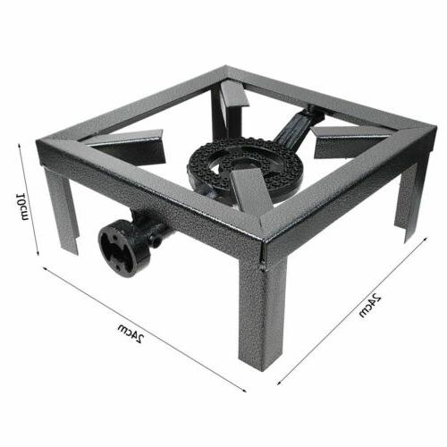 One Burner Outdoor Propane Heater Angle Camp