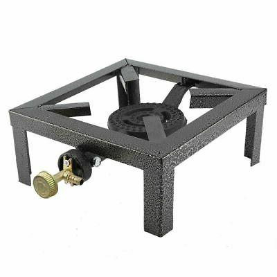 Outdoor Single Burner Large BBQ Cast Iron Boiling Ring