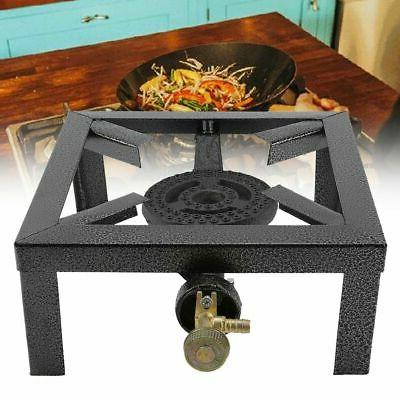 outdoor camping single gas burner large bbq