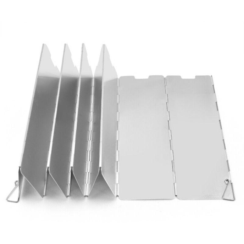 outdoor camping stove cover pot accessories windshield
