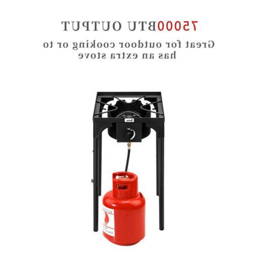 Portable Camp Burner Cast Gas Outdoor Cooker