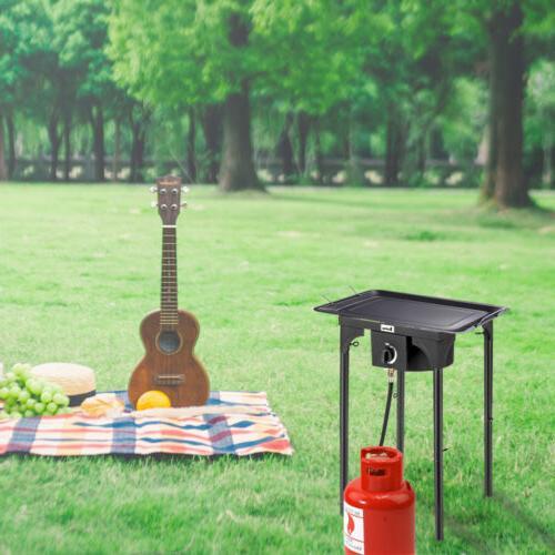 Portable Camp Burner Cast Gas LPG Outdoor
