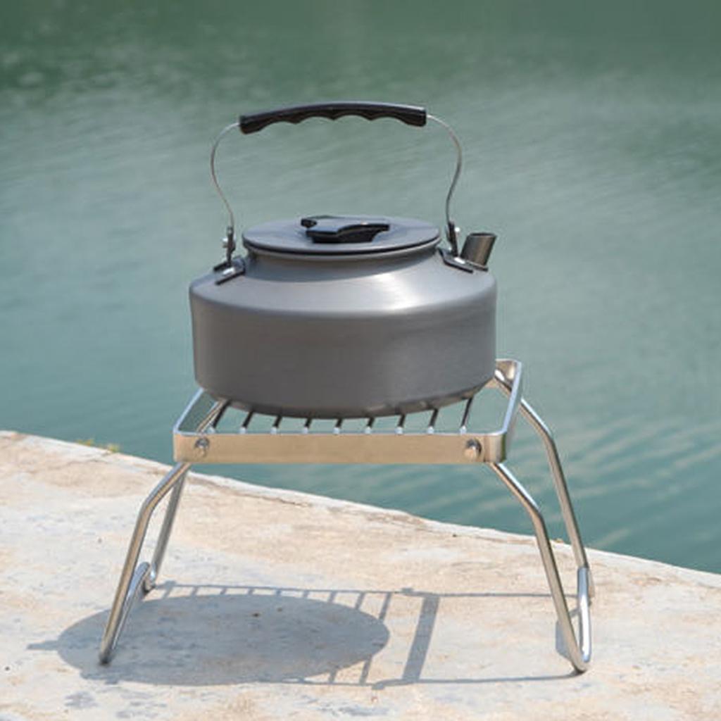 Outdoor Burner <font><b>Stove</b></font> Stand Holder Picnic BBQ