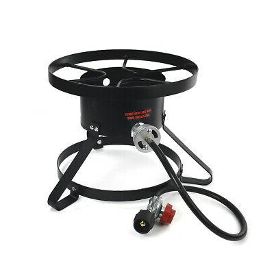 High Pressure Burner Outdoors Cooking Gas Single Propane Sto