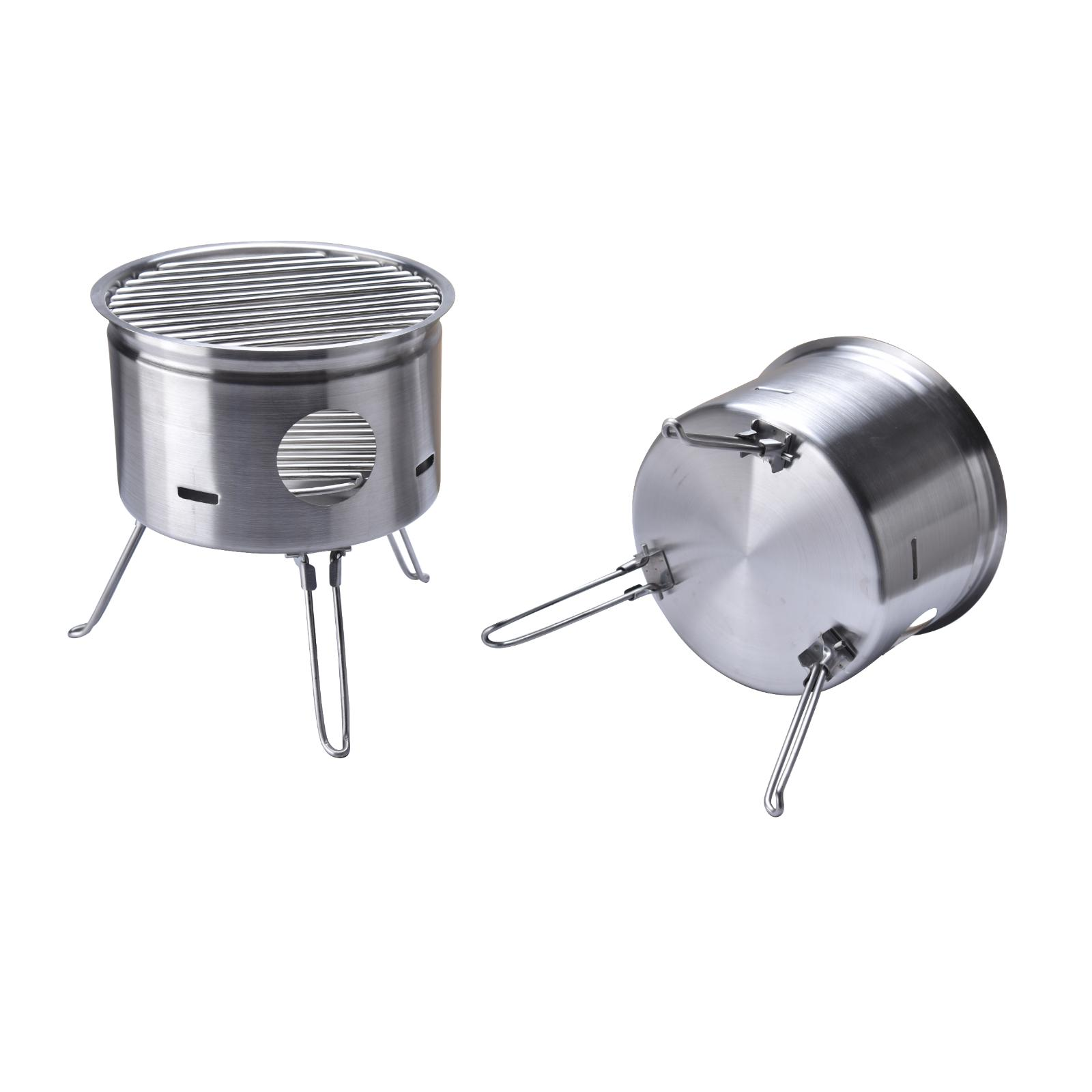 Outdoor Stainless Steel Camping Portable Burning