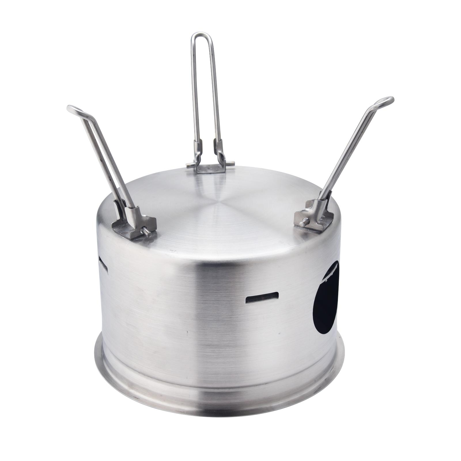 Outdoor Stainless Steel Camping Wood Portable Stove