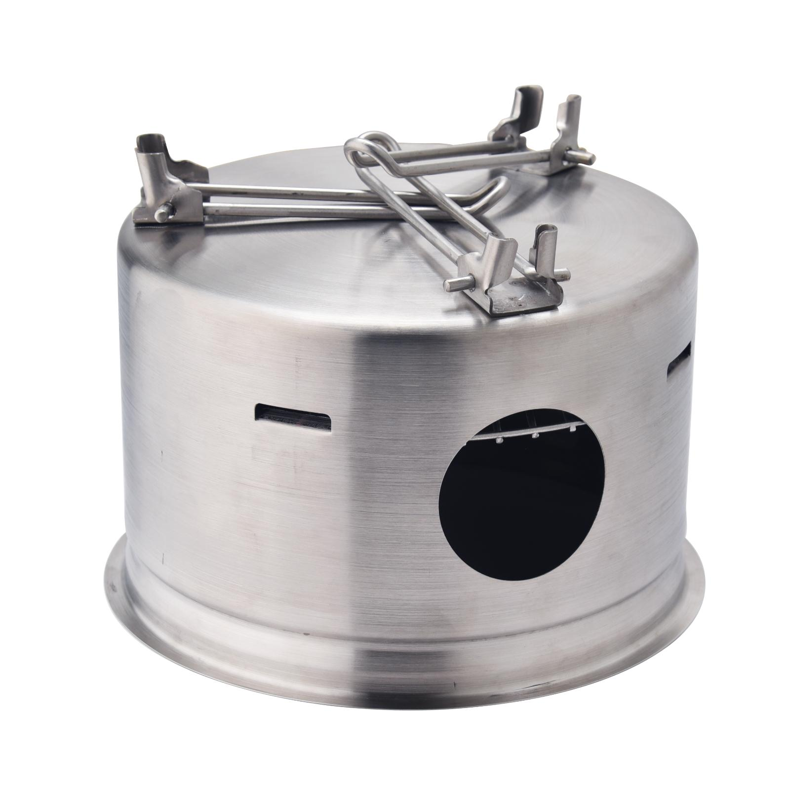 Outdoor Stainless Camping Wood Portable Burning