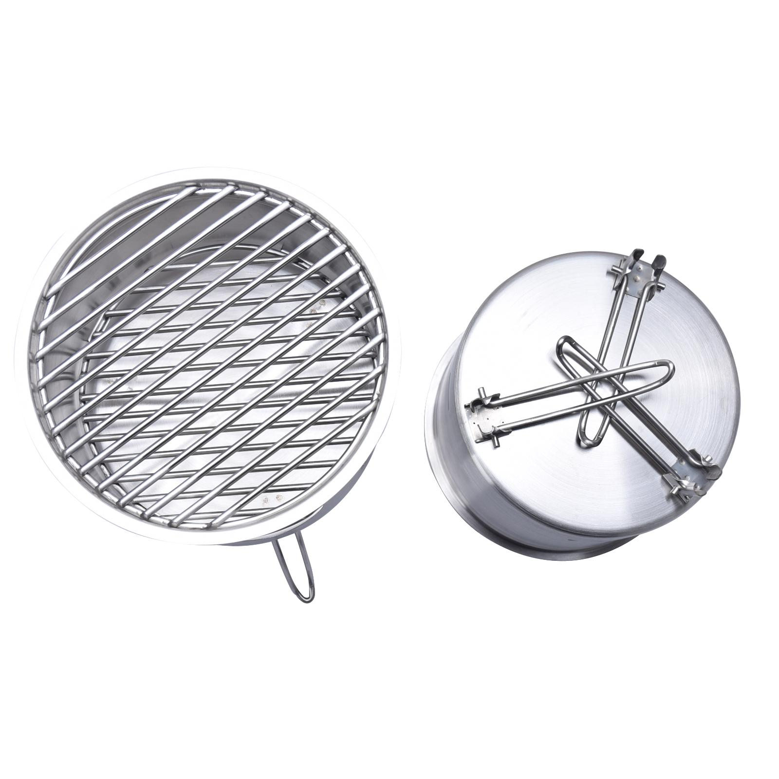 Outdoor Steel Camping BBQ Portable